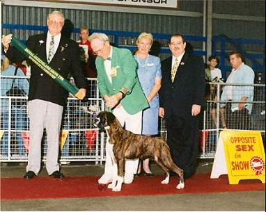 Lizzy winning RUBIS Brisbane Royal